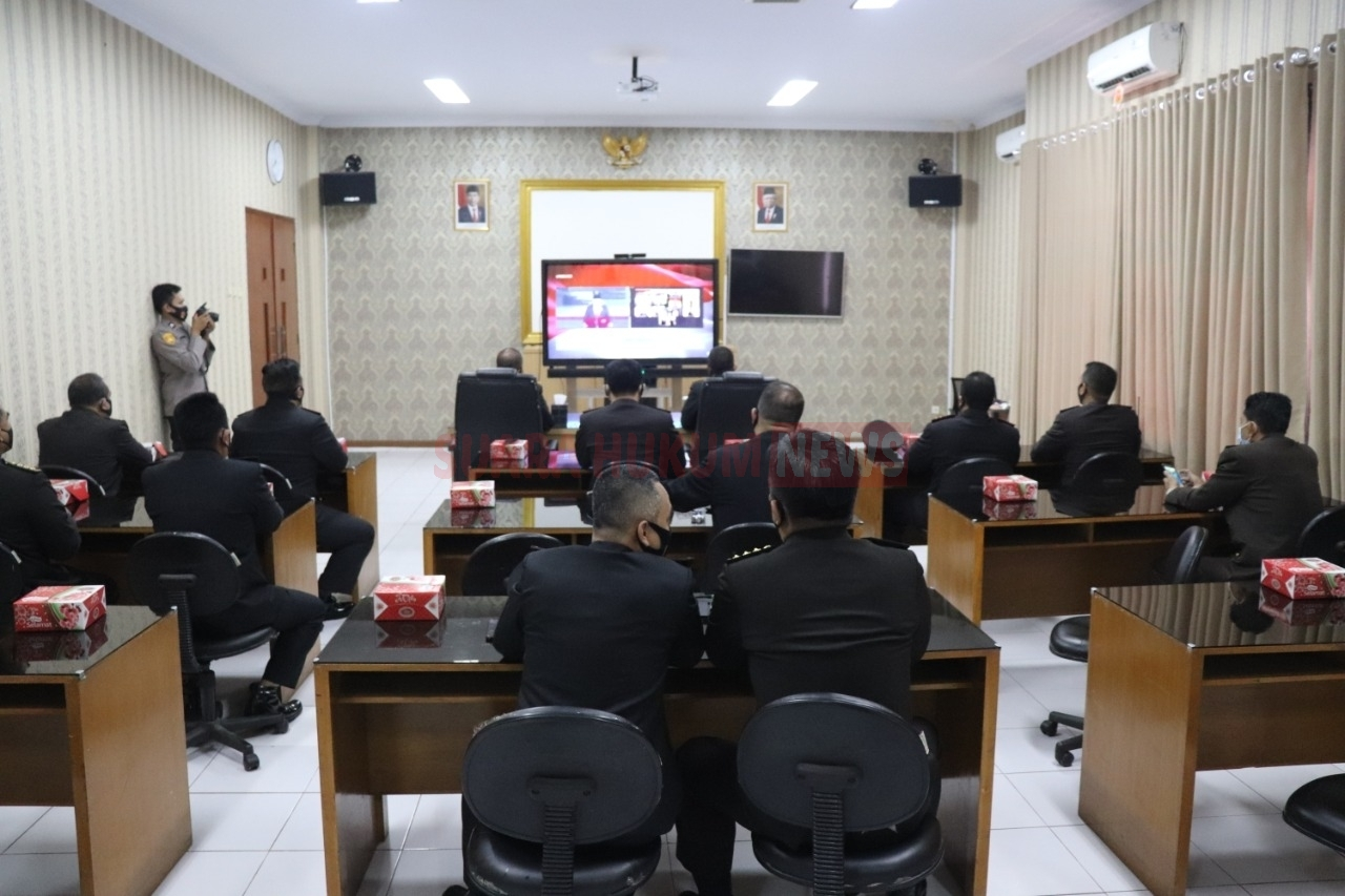 Kapolda Banten Ikuti Upacara Peringatan Hari Kesaktian Pancasila Melalui Video Conference