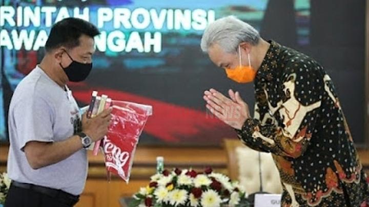 Bertemu Gubernur Jateng, Moeldoko : Jangan Sampai Semua Kematian Selalu Dikatakan Akibat Covid-19