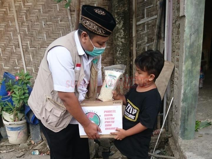 Jumat Berkah, Komunitas 3GO Pusat Berikan Santunan Kepada Anak Yatim Piatu
