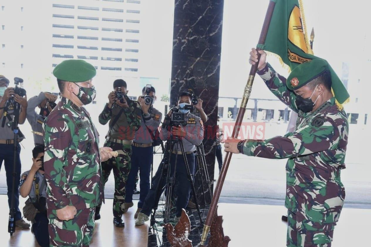 Kasad Pimpin Alih Kodal Yonzikon 11/DW & Laporan Korps 19 Perwira Tinggi TNI AD