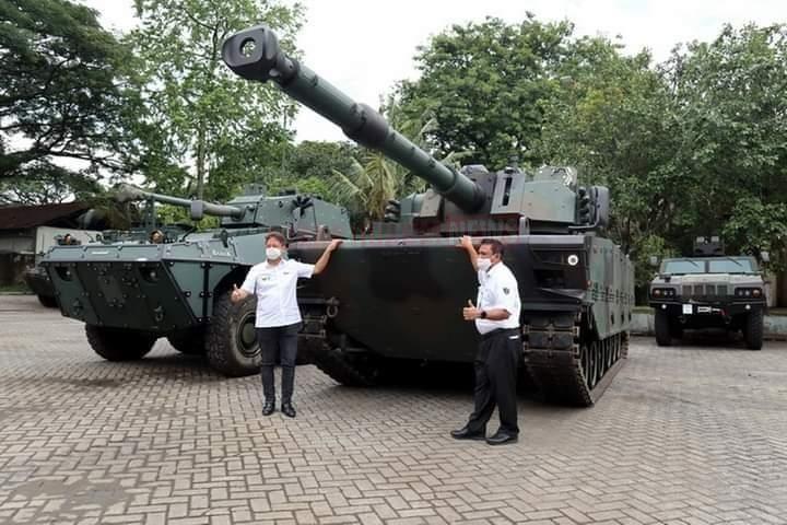 Wakil Menteri BUMN 1 Kunjungi Pindad Tinjau Perkembangan Industri Pertahanan Nasional
