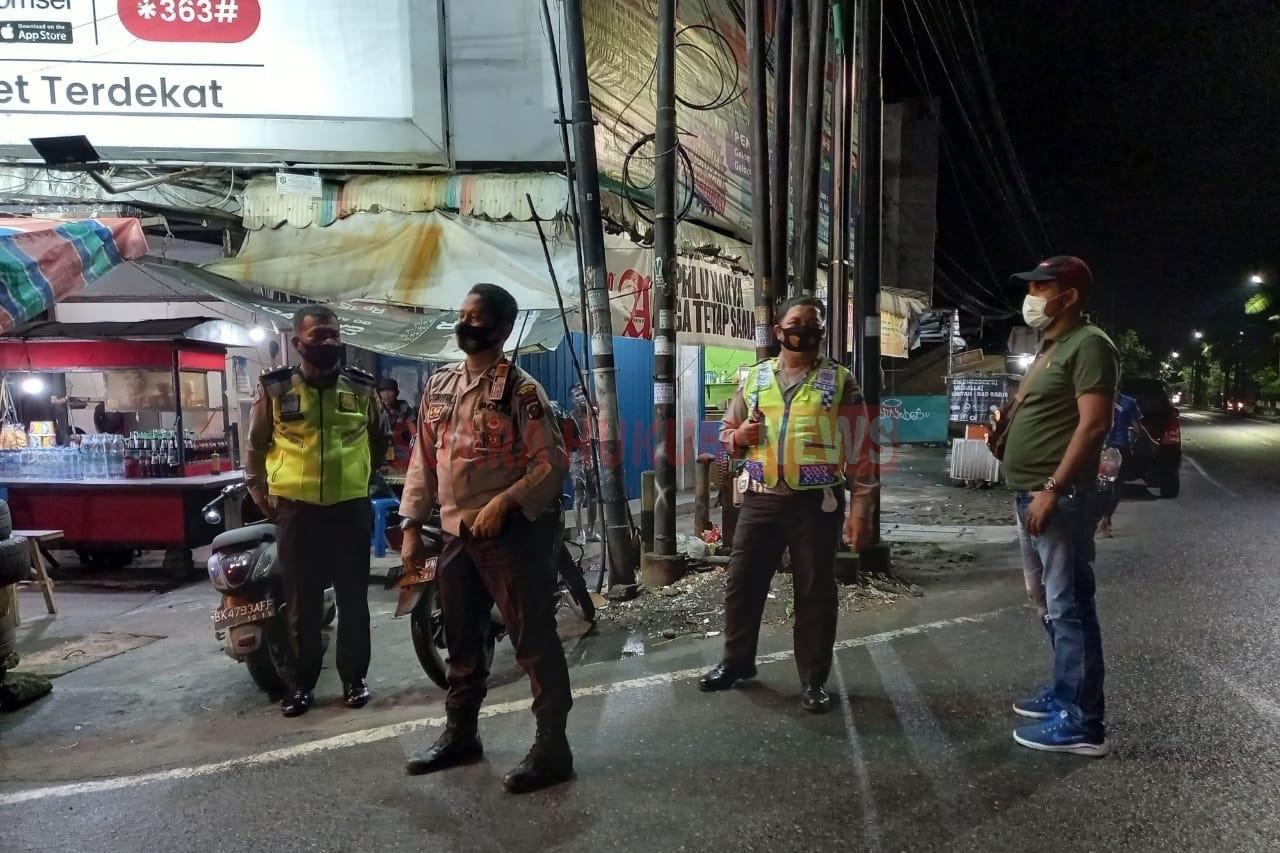 Jaga Kondusifitas Wilayah, Polsek Medan Helvetia Rutin Gelar Patroli
