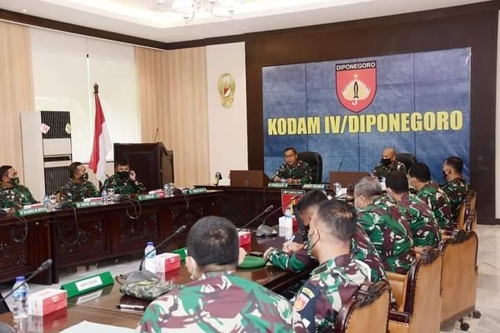 Pangdam IV / Diponegoro : Penggunaan Dana Covid-19 Harus Tepat Sasaran
