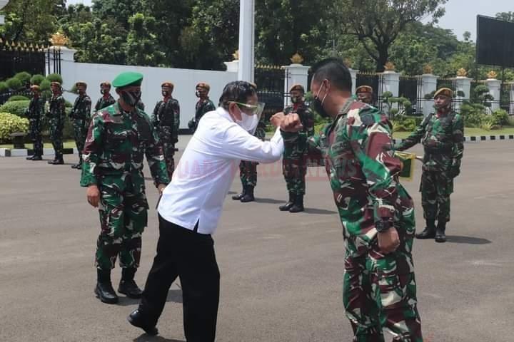 Menko Polhukam: TNI AD Harus Menjunjung Prinsip Bersatu Dalam Keberagaman