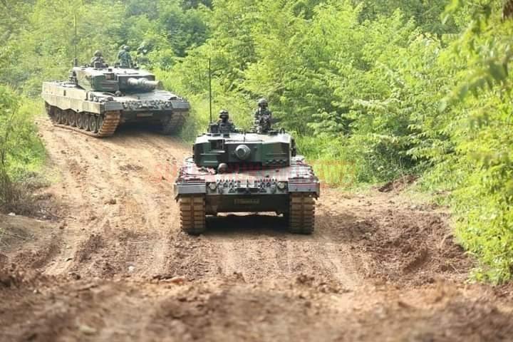Latbak Leopard Ancab Brigif R 9/DY Kostrad TA. 2020 Di Baturaja