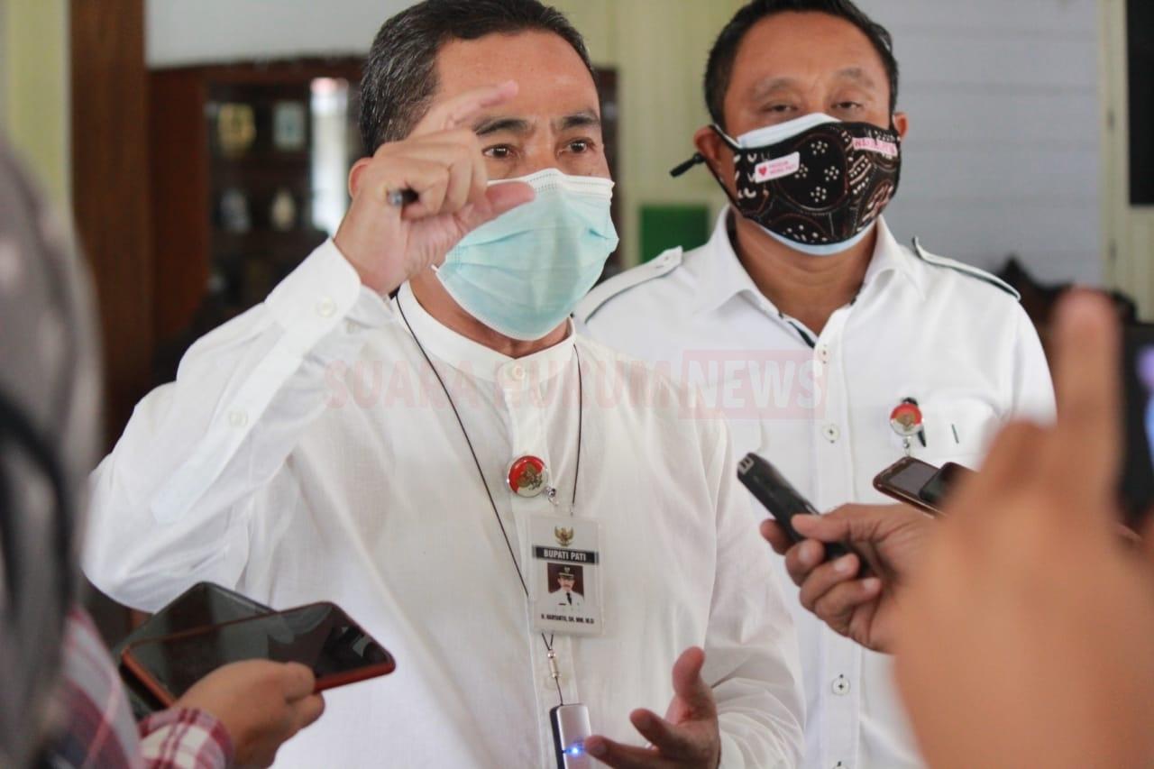 Bupati Ingatkan , Pentingnya Patuhi Protokol Kesehatan Dimasa Pandemi