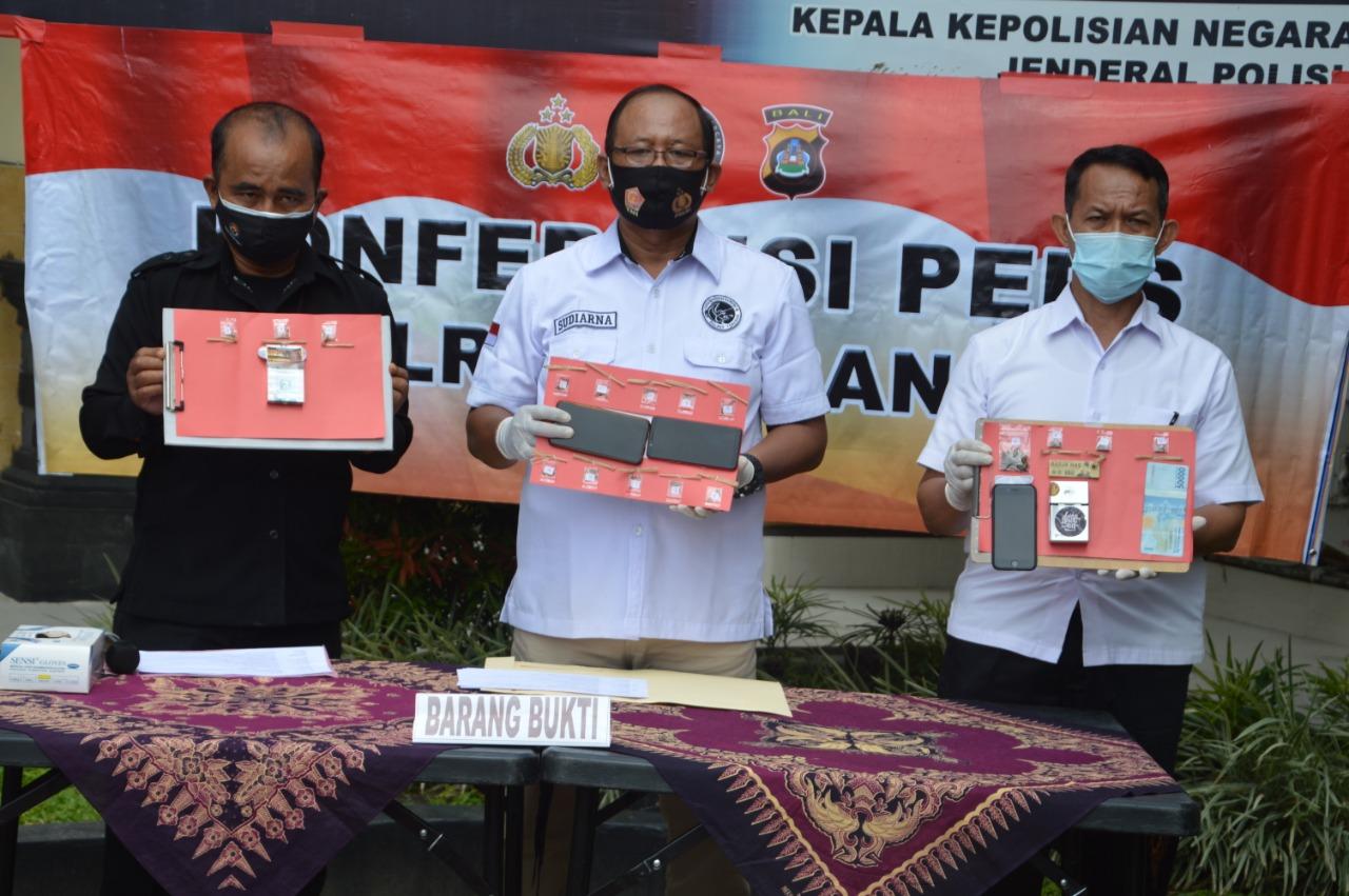 Satresnarkoba Polres Tabanan,Berhasil Tangkap 4 Pelaku, Penyalahgunaan Narkoba