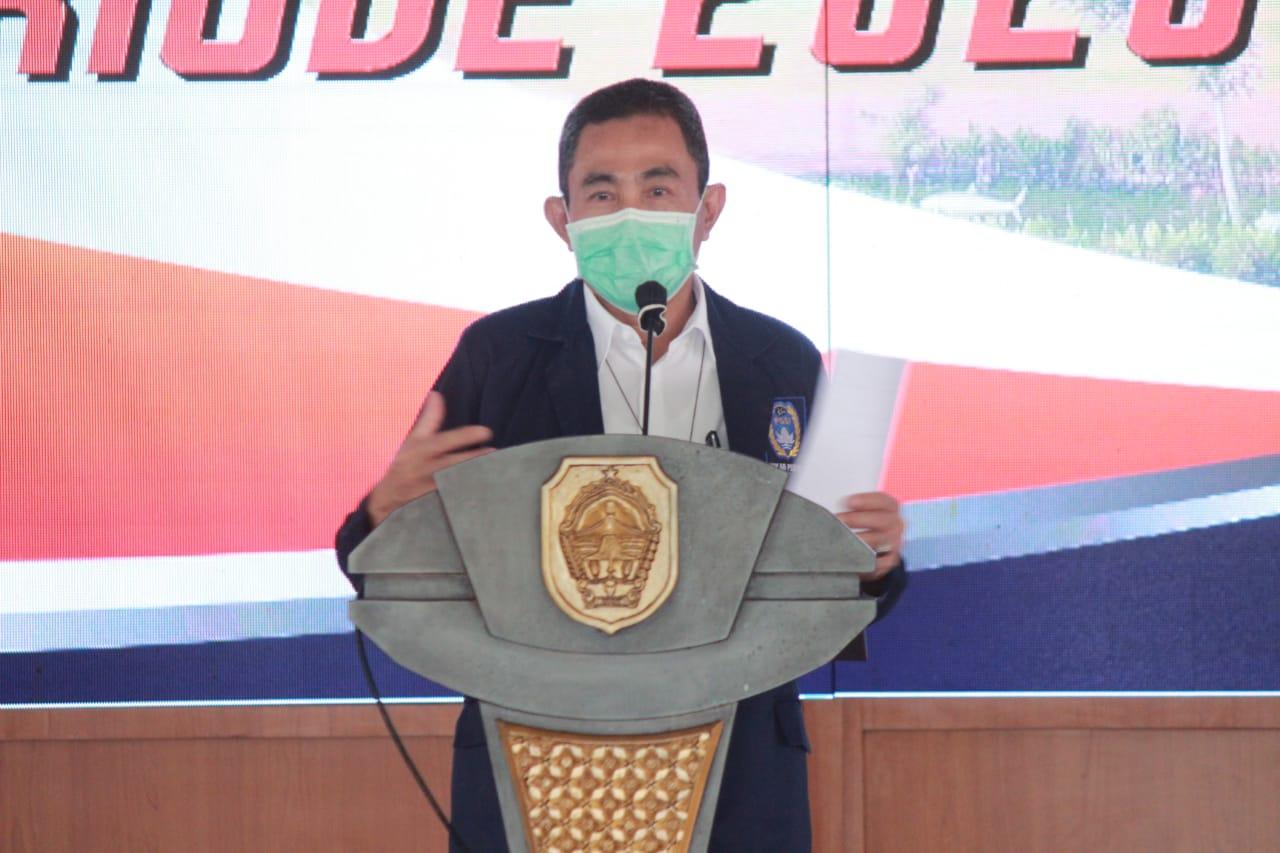 Bupati Haryanto Hadiri Pelantikan Askab PSSI Pati, Periode 2020-2024