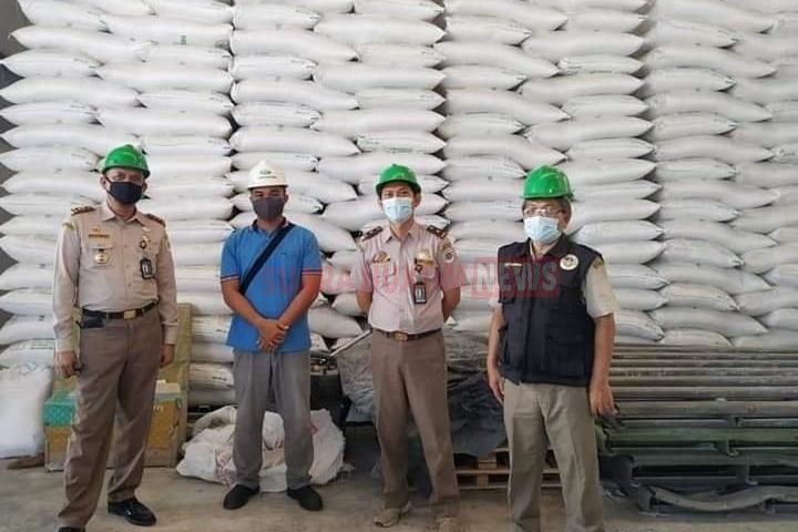 Kepala Karantina Pertanian Pangkalpinang Kunjungi Pabrik Tapioka Di Desa Puding Besar