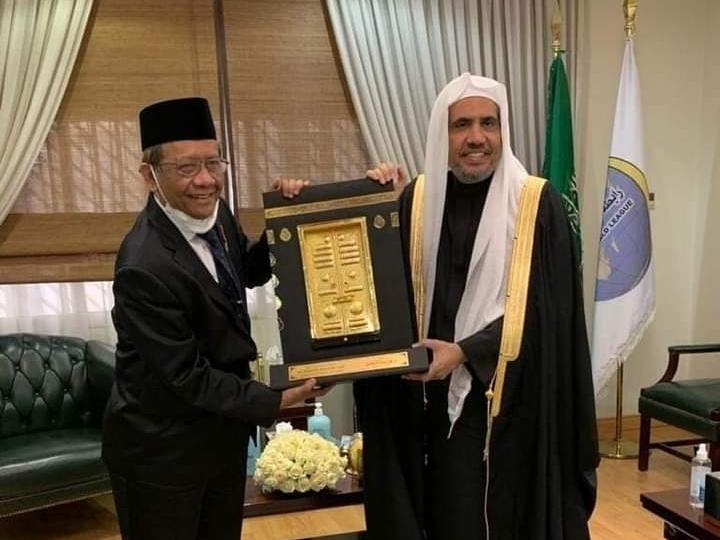 Menko Polhukam Mahfud MD Bertemu Dengan Sekjen Rabithah Alam Islami Di Riyadh, Saudi Arabia