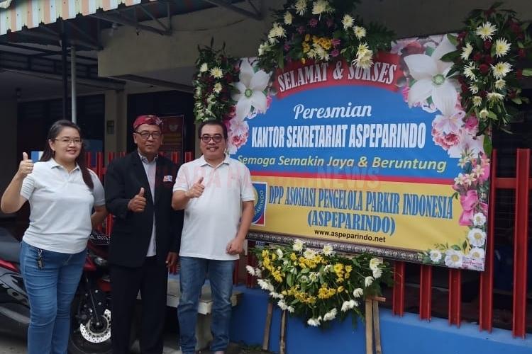 Agung Santoso Resmikan Kantor DPC Asparindo Kota Madiun