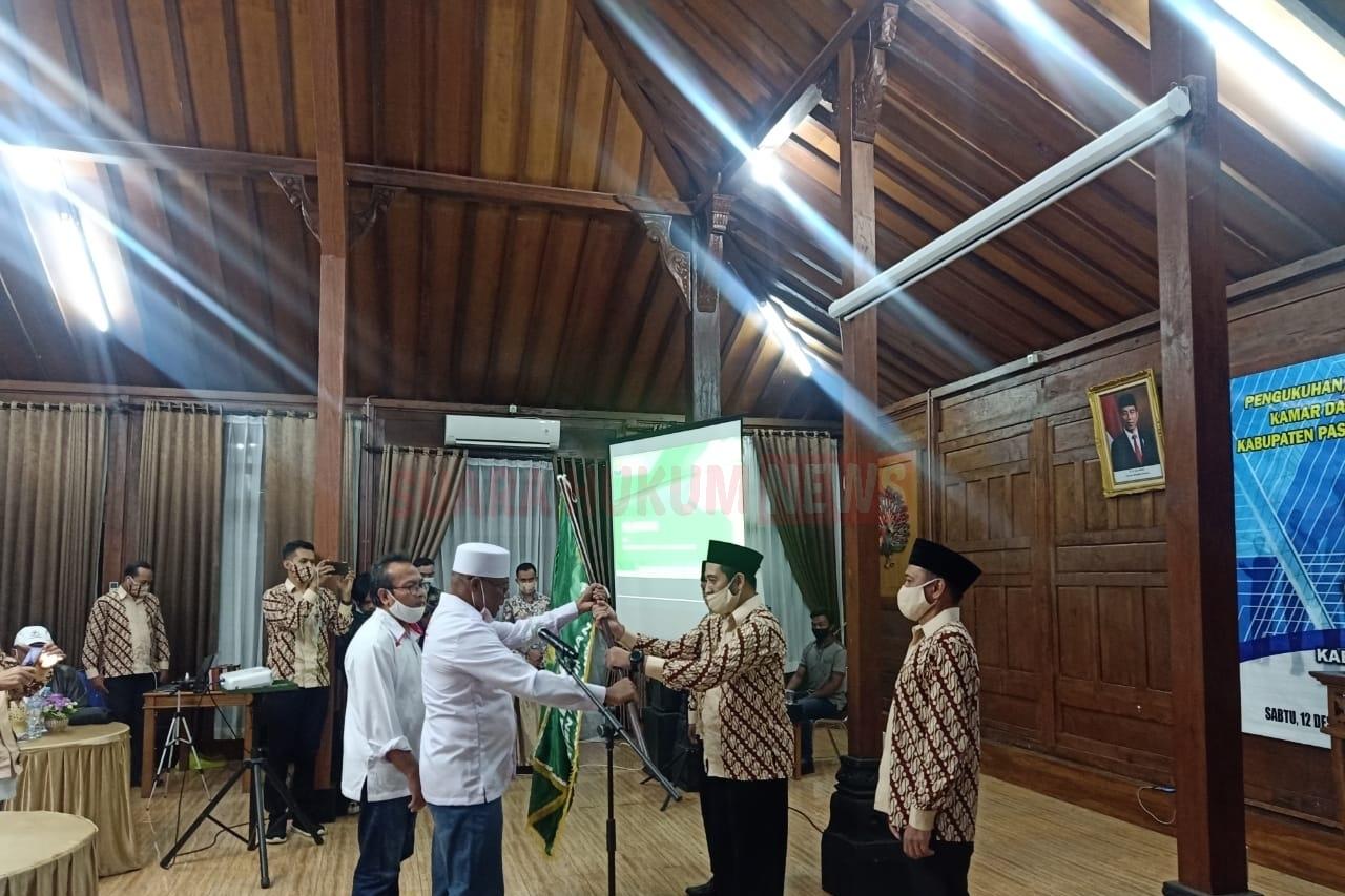 Pelantikan M. Luthfillah Habibi Sebagai Ketua KADIN Kabupaten Pasuruan Masa Bhakti Tahun 2020-2025