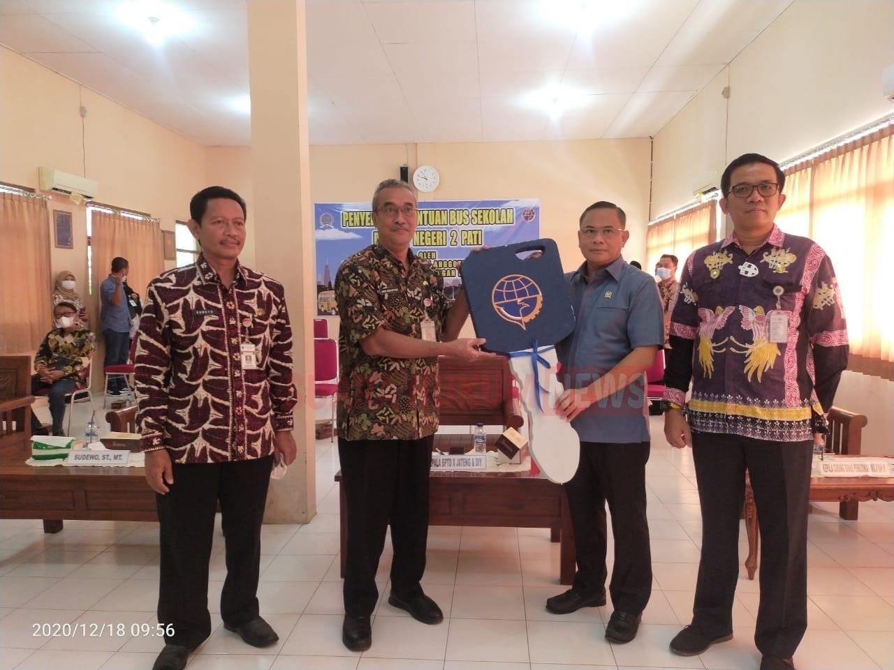Sebagai Alumni SMA Negeri 01 Pati Th.1988, H.Sudewo ,Membanggakan Almamater Tercinta
