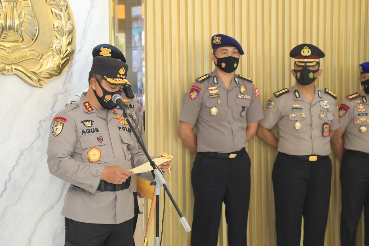 Komjen Pol Agus Pimpin Upacara Virtual Kenaikan Pangkat 390 Personel Jajaran Baharkam Polri
