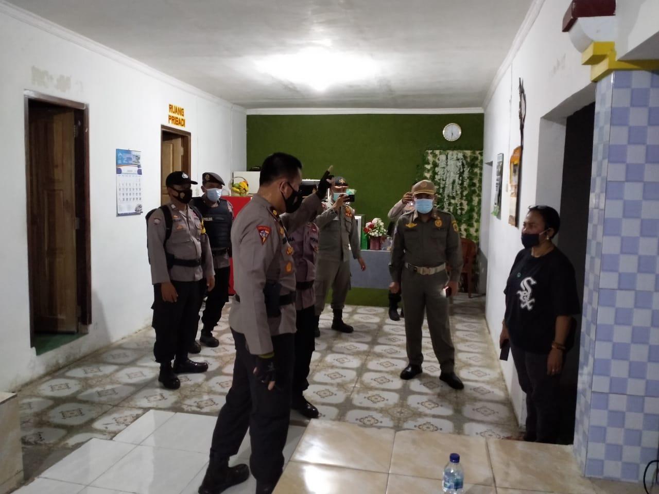 Polres Pati bersama Satpol-PP, Grebeg Lokasi Karaoke di Wilayah Kecamatan Sukolilo