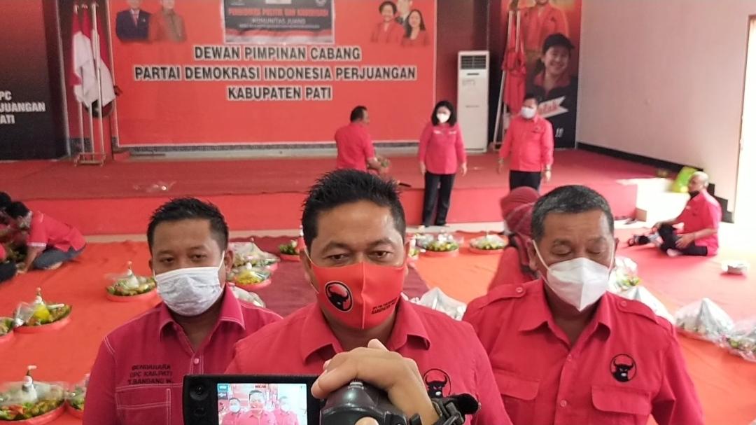 HUT PDI Perjuangan Ke-48,Ketua DPC Pati: Semoga Kedepan Lebih Baik untuk Rakyat dan Negara