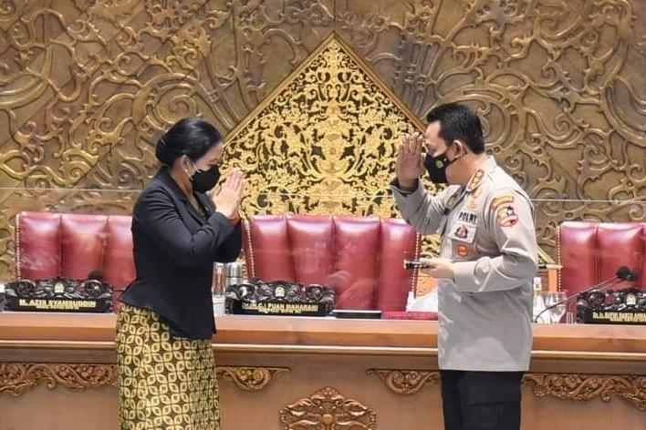 Disetujui DPR Jadi Kapolri, Puan:Tingkatkan Layanan Publik dan Responsif pada Aduan Masyarakat