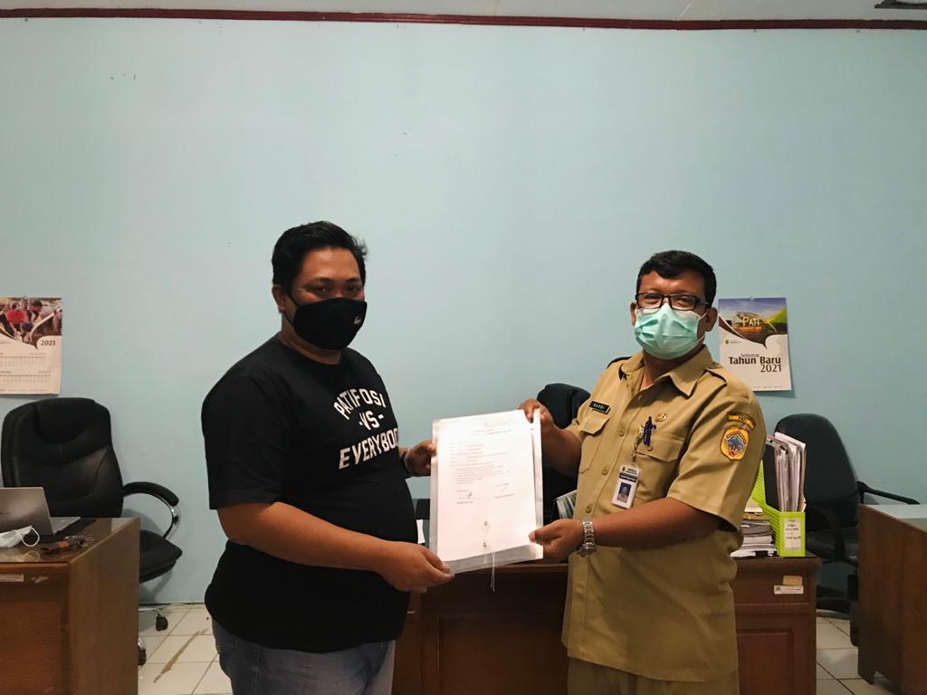 Calonkan Diri sebagai Manager Persipa, Berkas Dian Memenuhi Syarat dari Dinporapar KabupatenPati