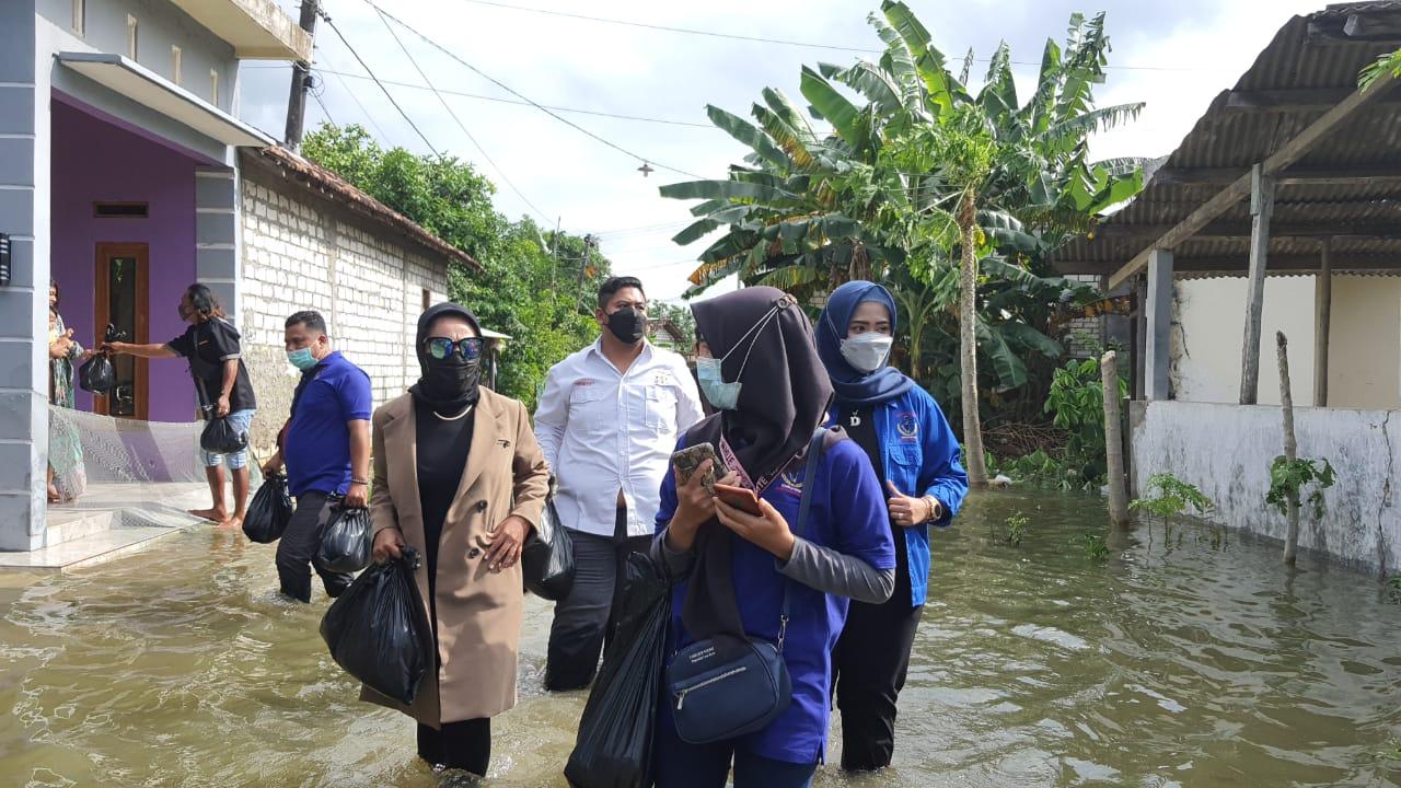 Sinergitas Lintas Organisasi, Bowo Setyadi Salurkan Paket Bantuan kepada Warga Terdampak Banjir