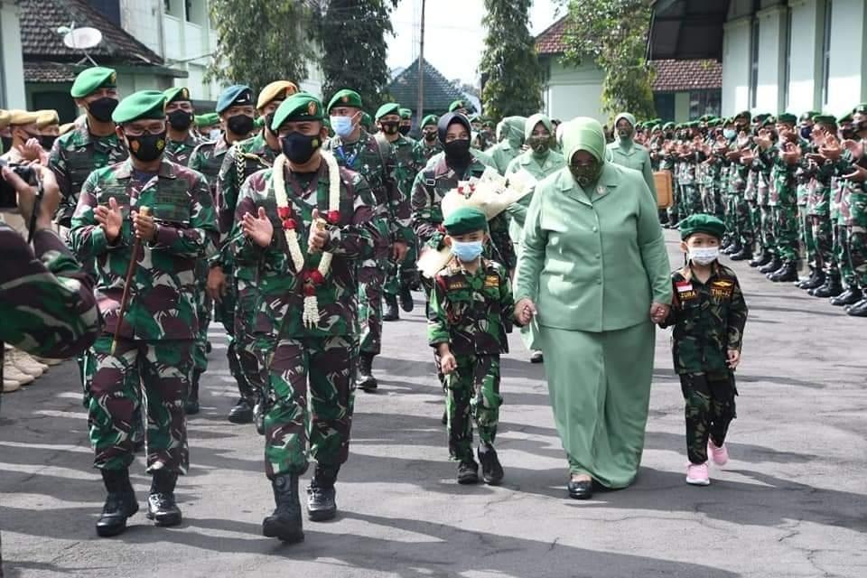 Buka Apel Dansat, Pandam IV/Diponegoro: Membangun Satuan yang Profesional, Adaptif & Dicintai Rakyat