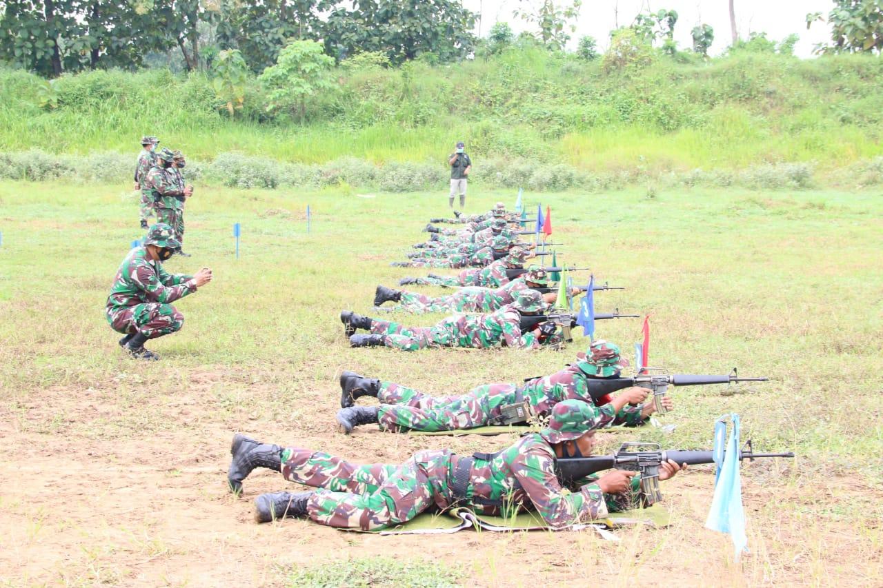 Latbakjatri Triwulan I Tahun 2021, Tingkatkan dan Asah Kemampuan Prajurit TNI di Jajaran Kodim 0718/Pati