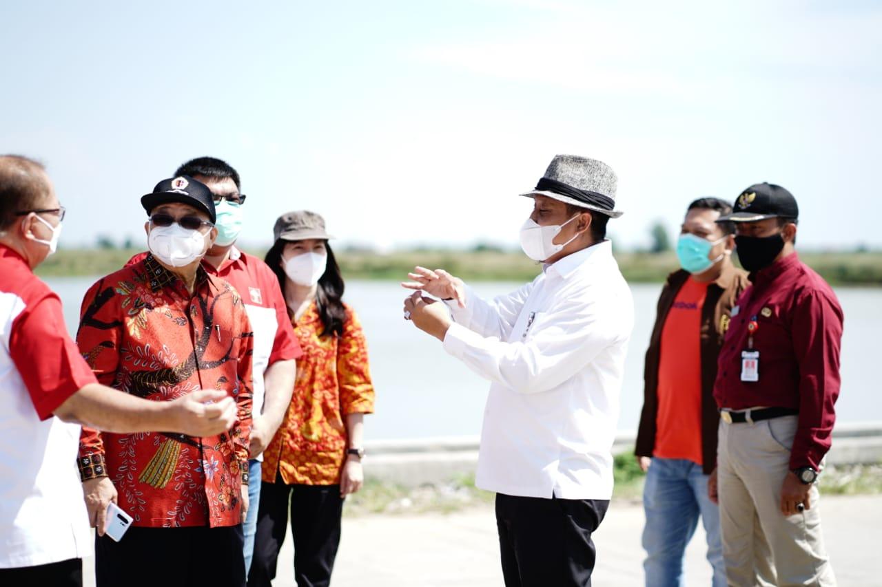 Bahas Potensi Investasi Antarnegara, Wabup Terima Kunjungan dari Perhimpunan Indonesia Tionghoa