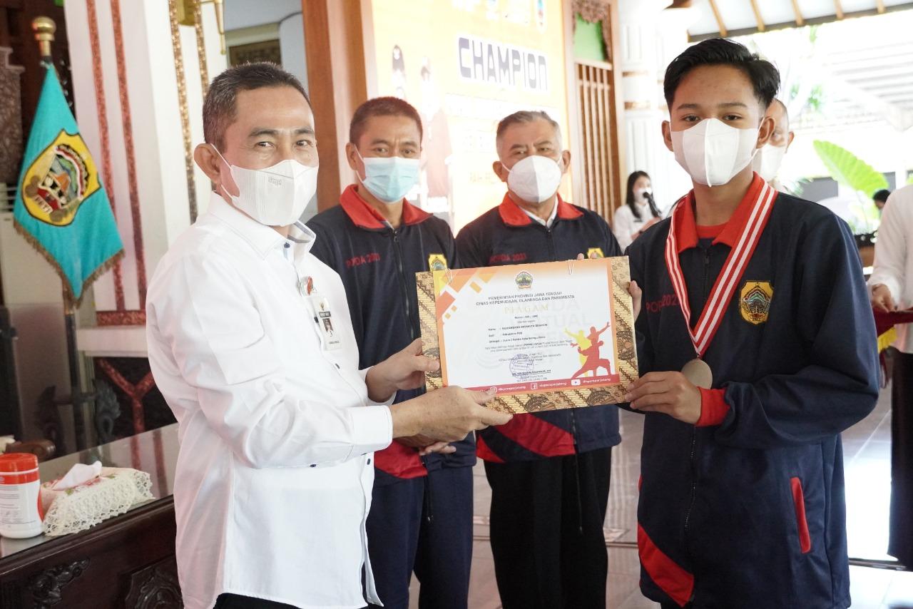 Raih 9 Emas, 2 Perak & 3 Perunggu, Kontingen Kabupaten Pati Sabet Juara II Umum pada POPDA 2021
