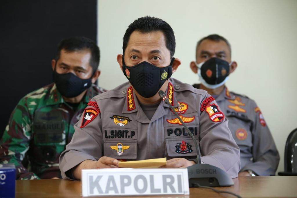 Kerahkan Kekuatan Terbaik, Kapolri Dirikan 2 Posko, Untuk Evakuasi KRI Nanggala 402