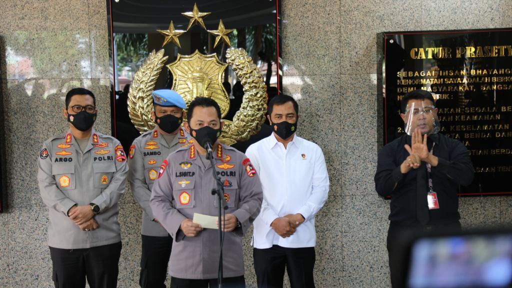 Kapolri Jenderal Listyo Sigit Prabowo: Negara Tidak Boleh Kalah Dengan KKB Papua