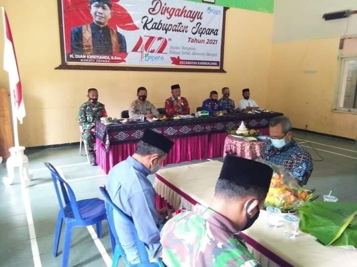 Batuud Koramil 10/Karimunjawa hadiri Acara Tasyukuran Sederhana di Hari Jadi ke-472 Kota Jepara
