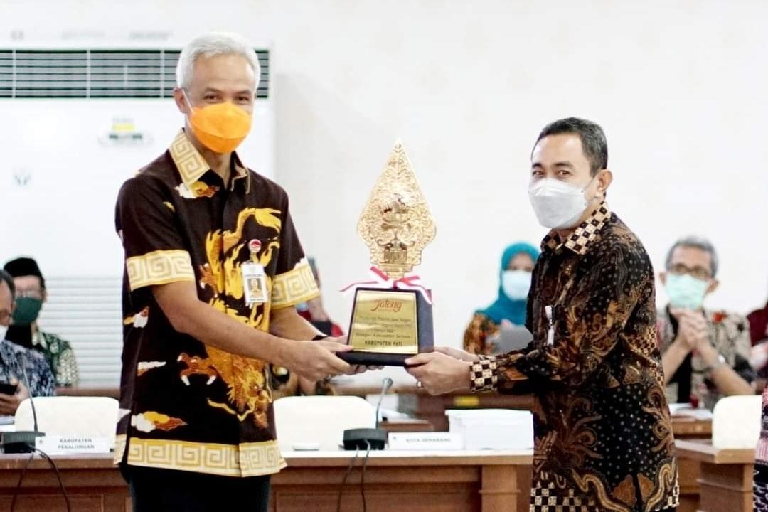 Kabupaten Pati Sabet Juara I dalam PPD tingkat Provinsi Jawa Tengah Tahun 2021