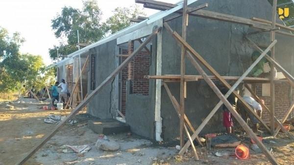 Relokasi 1000 Rumah Korban Banjir & Tanah Longsor di NTT, Ditargetkan Rampung Bulan September 2021