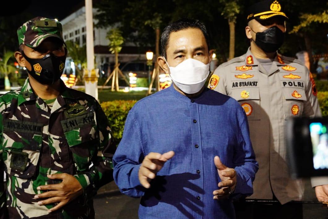 Antisipasi Lonjakan COVID-19, Bupati Pati Gelar Operasi Yustisi di Lima Kawedanan