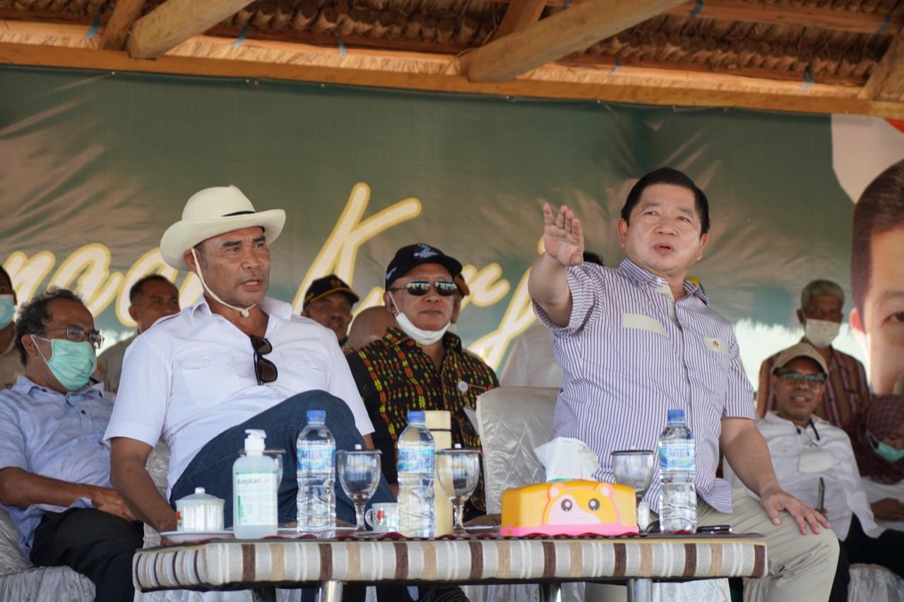 Menteri PPN Meninjau Langsung, Calon Lokasi Food Estate di Sumba Tengah