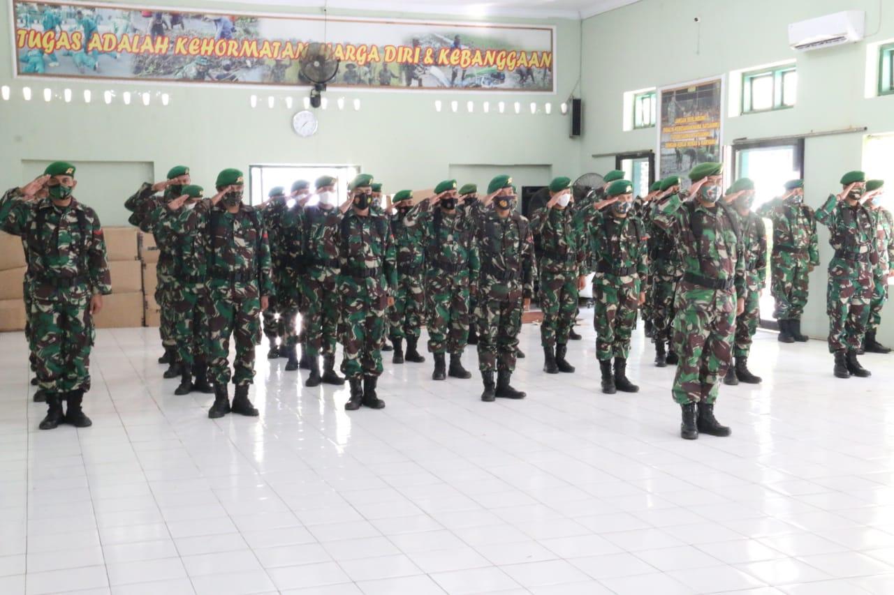Terima BKO Batalyon Infanteri 410/Alugoro, Dandim 0718 Pati: Pedomani Sapta Marga dan 8 Wajib TNI