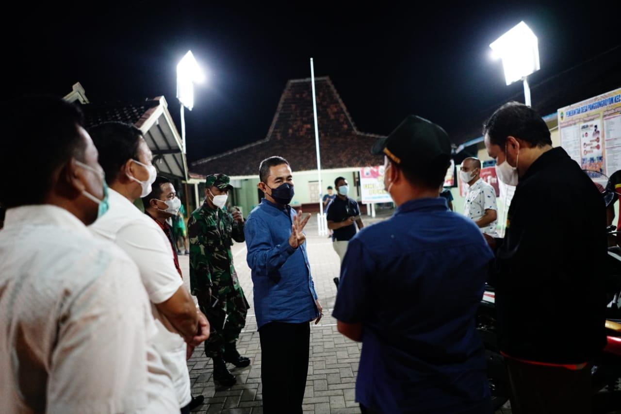 Patroli PPKM di Wilayah Pati Utara, Bupati : Warga yang Jalani Isolasi Mandiri harus Mendapat Pengawasan Ketat