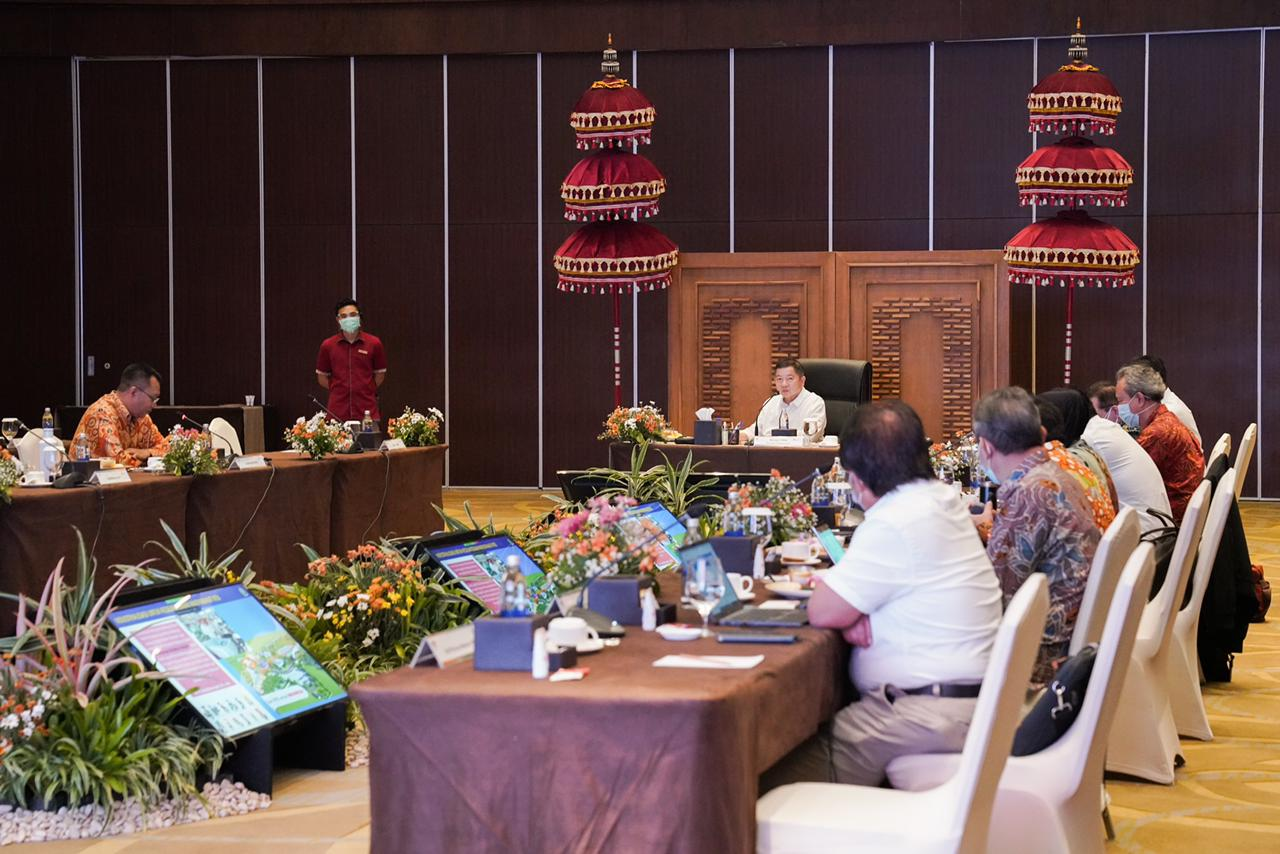 Berbincang Bersama Gubernur Bali, NTT dan NTB, Menteri Suharso Bahas Masalah Pangan