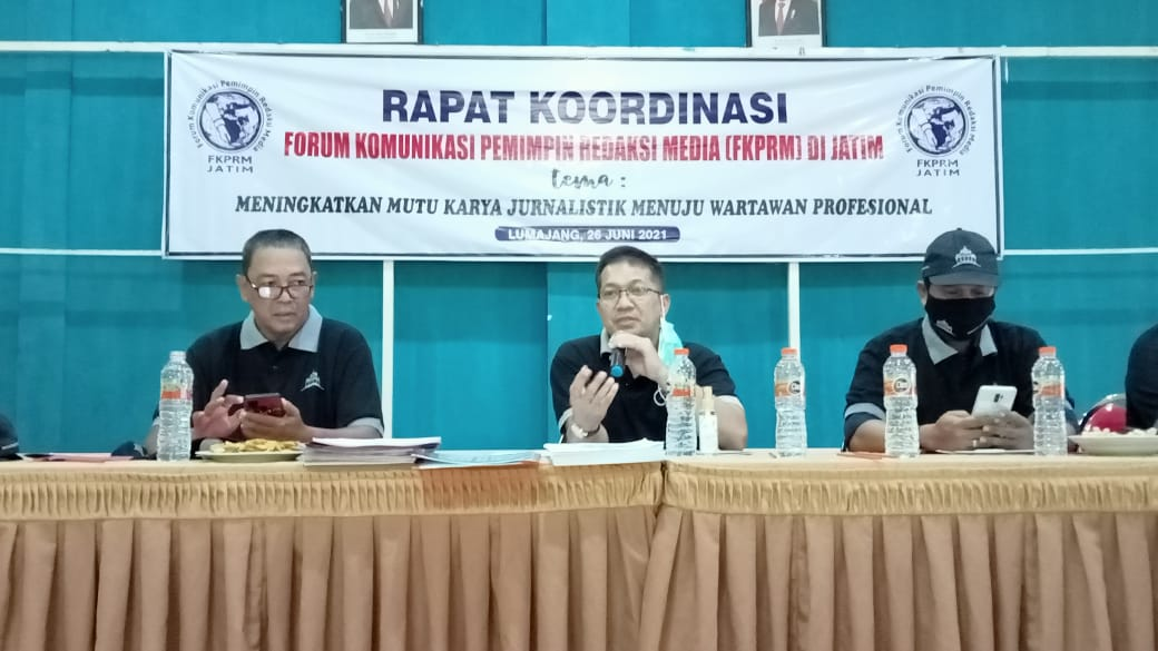 FKPRM: Pemred harus Selalu Tekankan pada Jurnalis, Agar tidak Melanggar KEJ