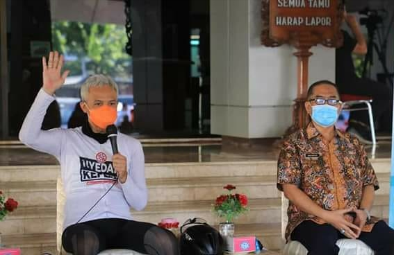 Hadiri Launching Gerakan Minum Jamu, Ganjar: Ayo Kita Gaspol Lagi !