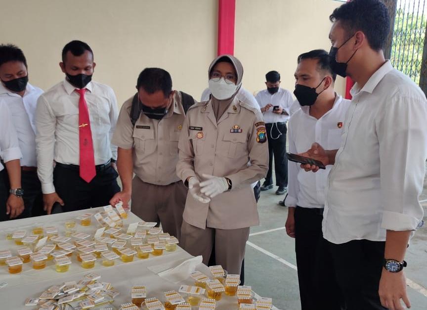 Div Propam Polri Laksanakan Gaktibplin Terhadap Personil Polda Kepri